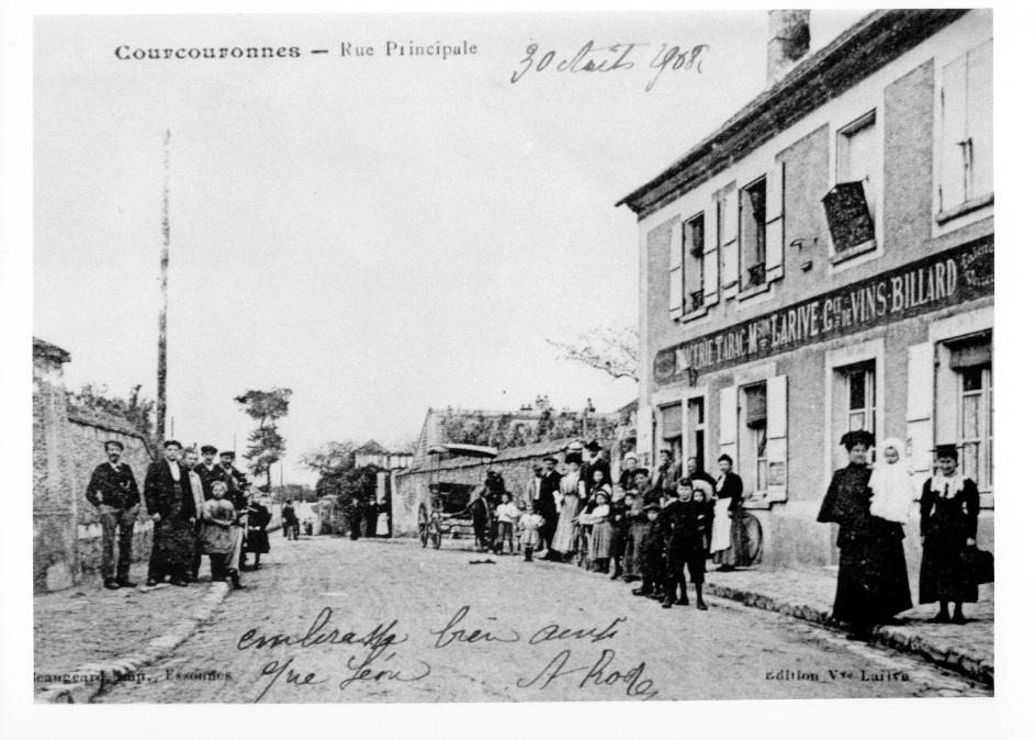 Courcouronnes rue principale