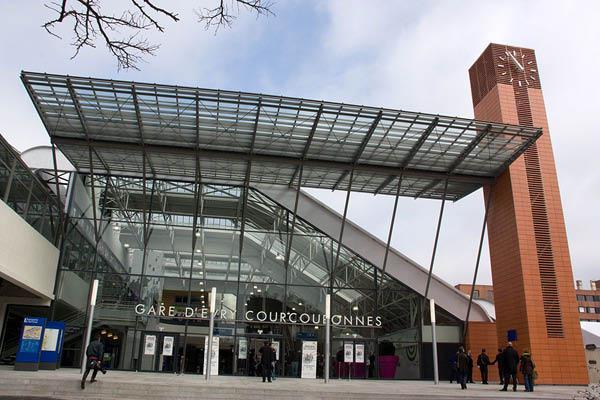 Gare d'Évry Courcouronnes