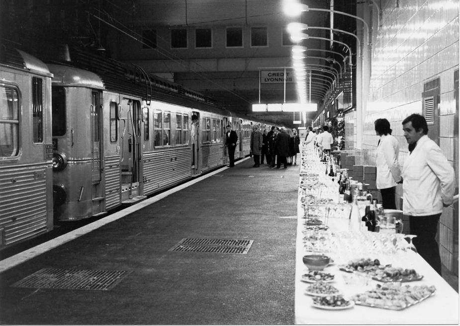 page 46 (1975 12 04) inauguration de la gare SNCF Evry-Courc